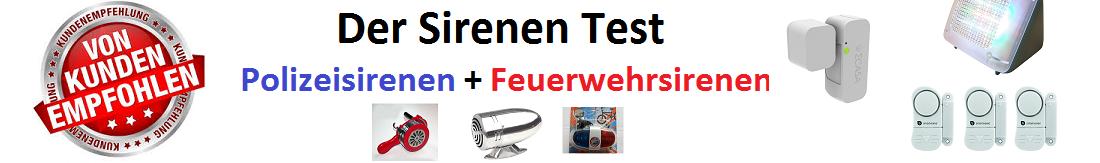 ⇒ Sirene kaufen ++ Testsieger ++ Top 5